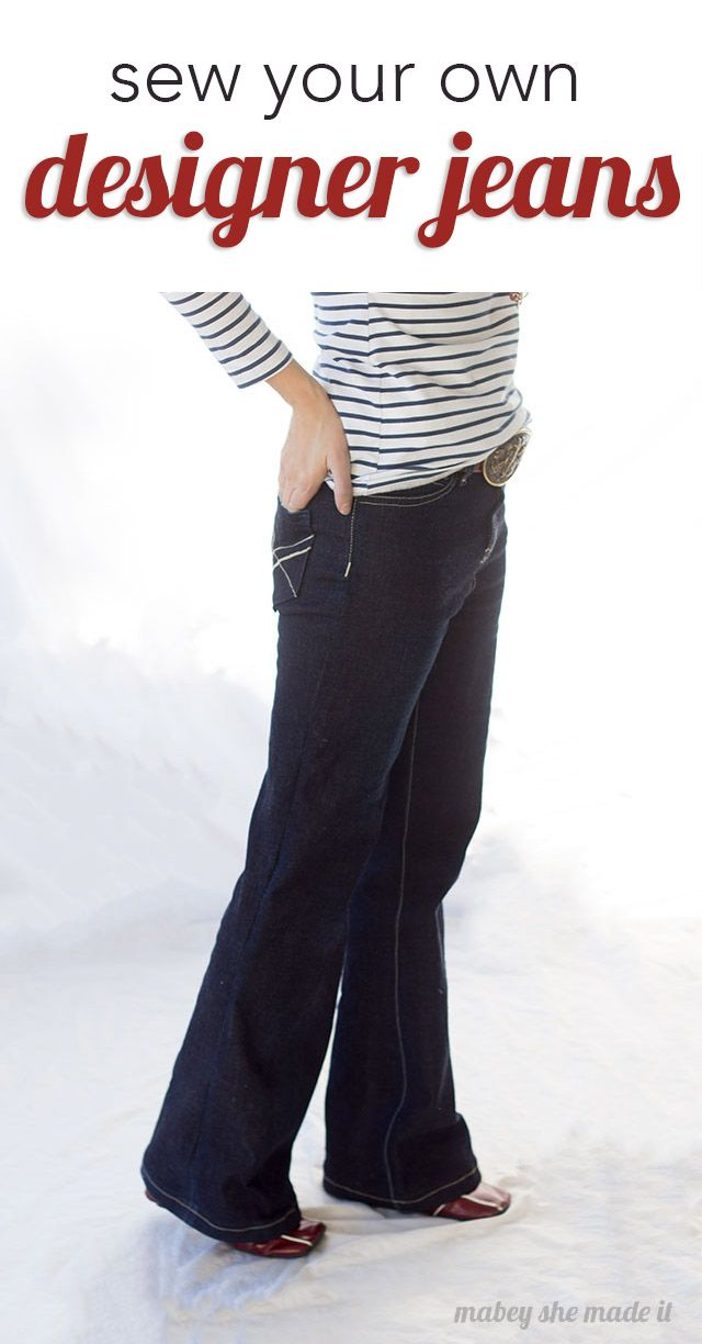 Sewing Jeans: Birkin Flares Pattern Review | Craft Community Board ...