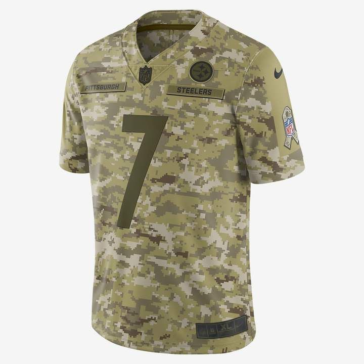 quality design ec858 d5ab2 Nike NFL Pittsburgh Steelers Salute to Service Limited ...