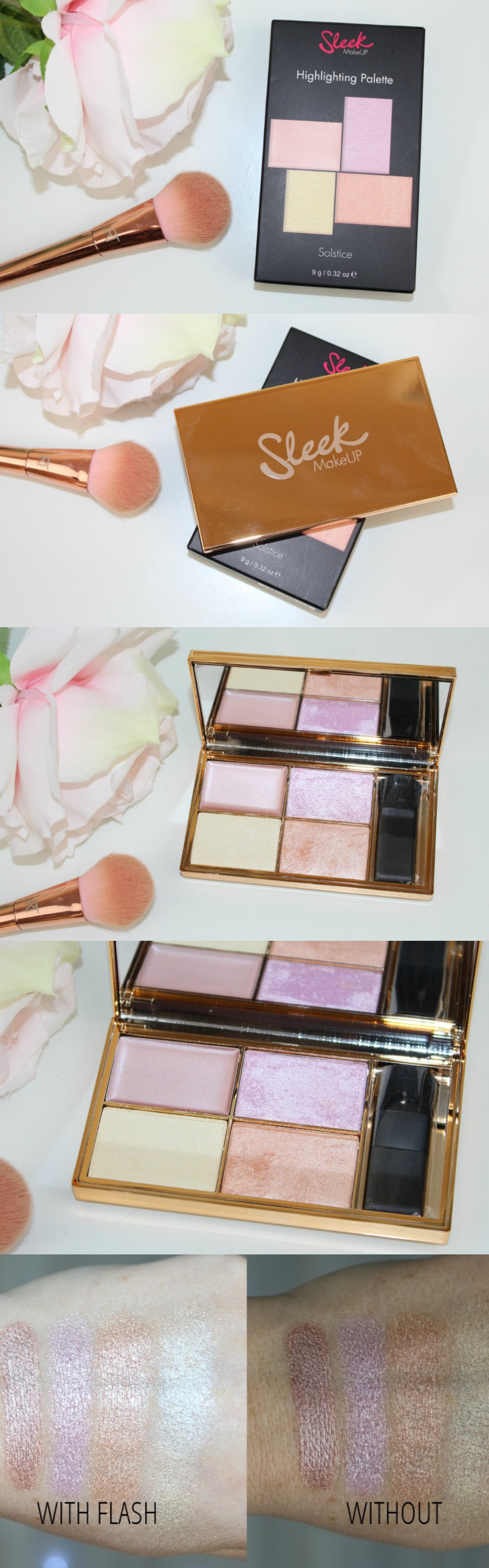 Revolution Radiance Lights Palette Review and Photos