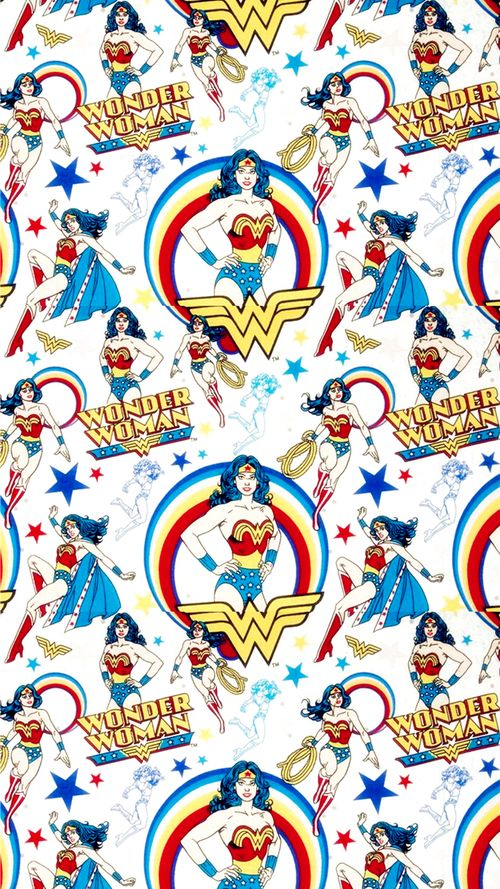 wonder woman Pattern Tumblr iphone case