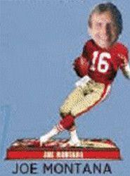 San Francisco 49ers Bobblehead - 8 Inch - Retired Player - Joe Montana #16