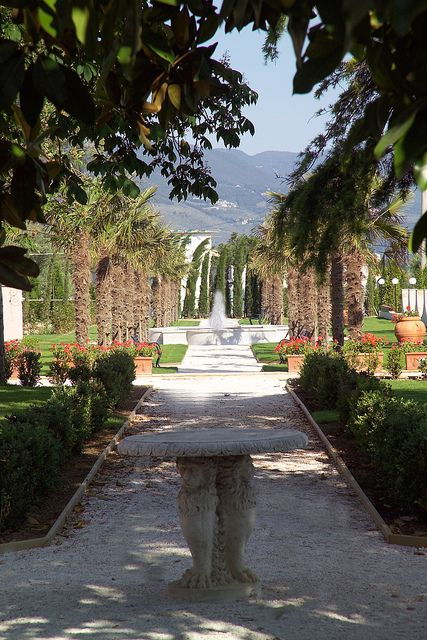 Hotel Villa Zuccari Gardens - Montefalco, province of Perugia , Umbria region. Italy