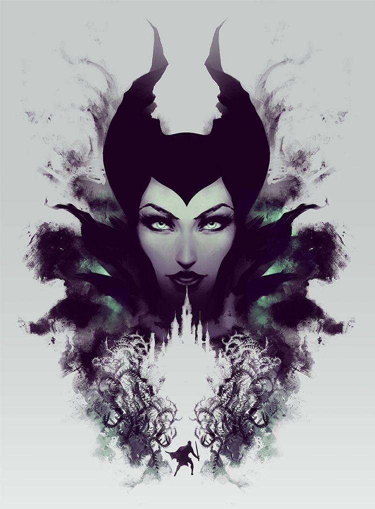 Rorschach Maleficent Small