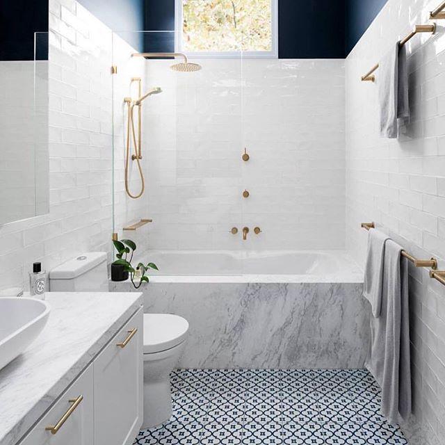 Gia Renovations White Bathroom Tiles Bathroom Interior