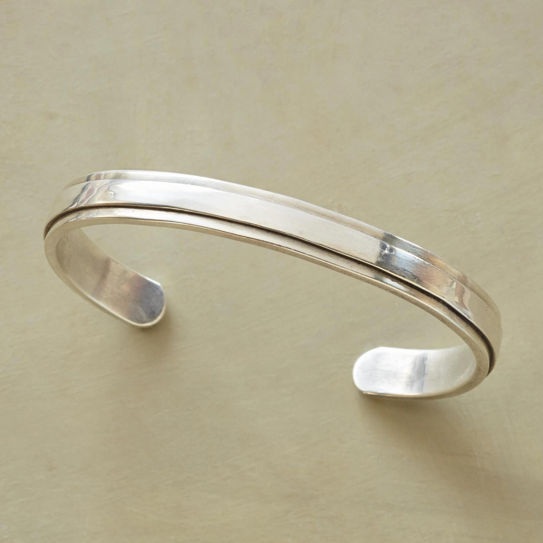 Still waters cuff a handmade sterling silver cuff bracelet for