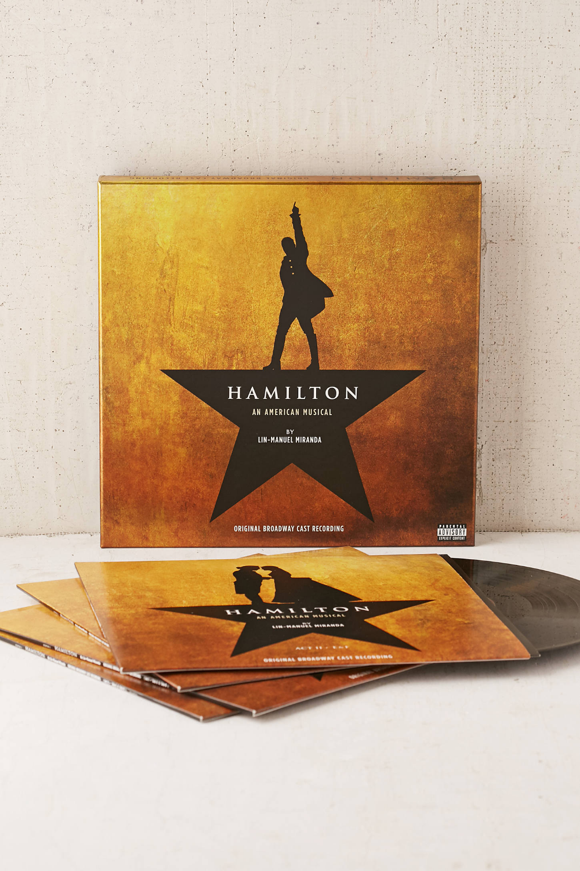 Various Artists Hamilton Original Broadway Cast Recording 4xlp Hamilton Hamilton Soundtrack Various Artists