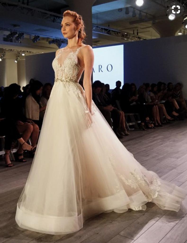 Used wedding dresses near me  Lazaro uu  I like it  Pinterest  Wedding dresses Wedding and