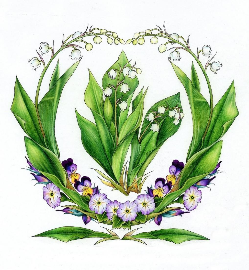 May Lily Of The Valley Tattoos Pinterest Tattoo