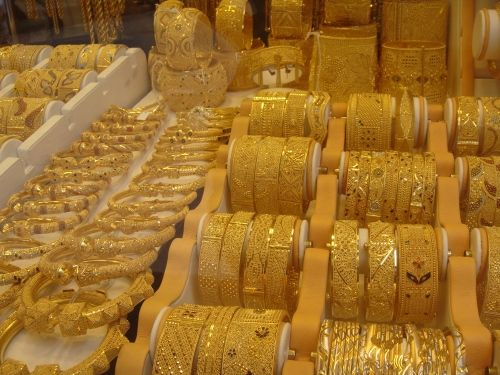 Gold Souk Marketplace Saudi Arabia