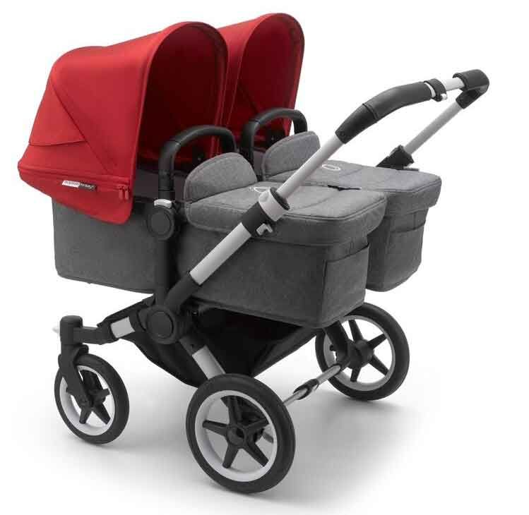 Bugaboo Twin Stroller From Birth With 2 Baby Car Seats Bugaboo Donkey 3 Twin With Carrycots And Seats And Two Maxi Cosi Baby Car Seats