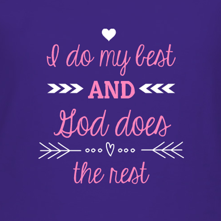 I do my Best Christian t-shirt design idea and template. Make your ...