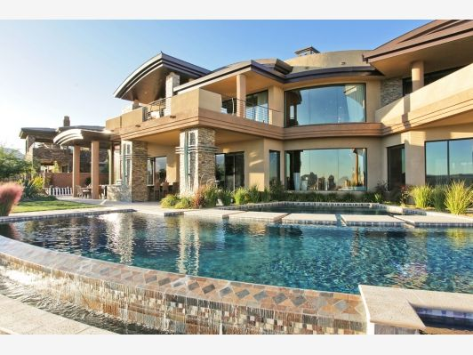 Awesome Luxury Home Backyard Pool Luxury Homes Dream Houses Fancy Houses Mansions