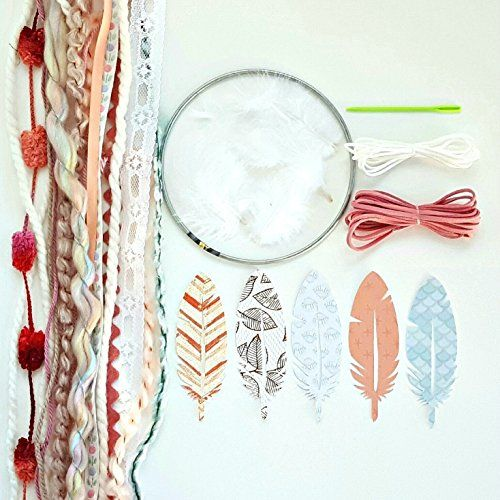 Amazon pink diy dream catcher kit the perfect diy birthday amazon pink diy dream catcher kit the perfect diy birthday craft project solutioingenieria Gallery