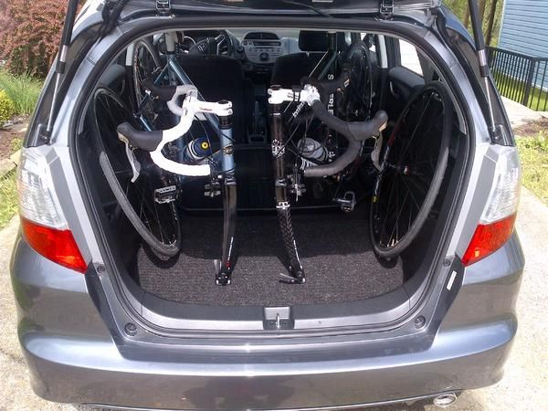 Bikes In A Honda Fit Last Edited By Tfmartin 09 21 2012 At 01