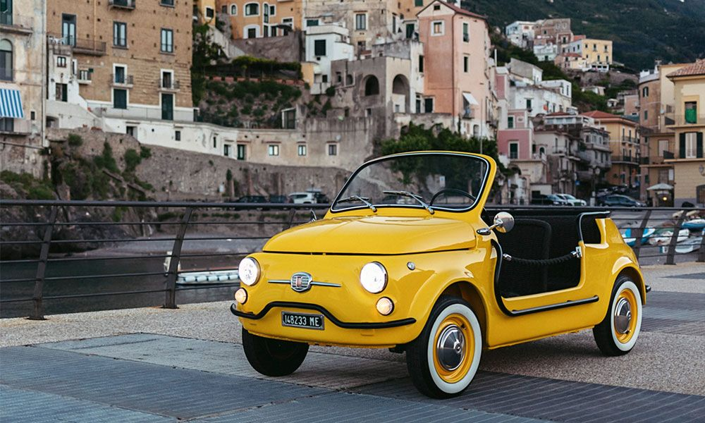 Rent A Vintage Electric Fiat In Italy With Images Fiat 500