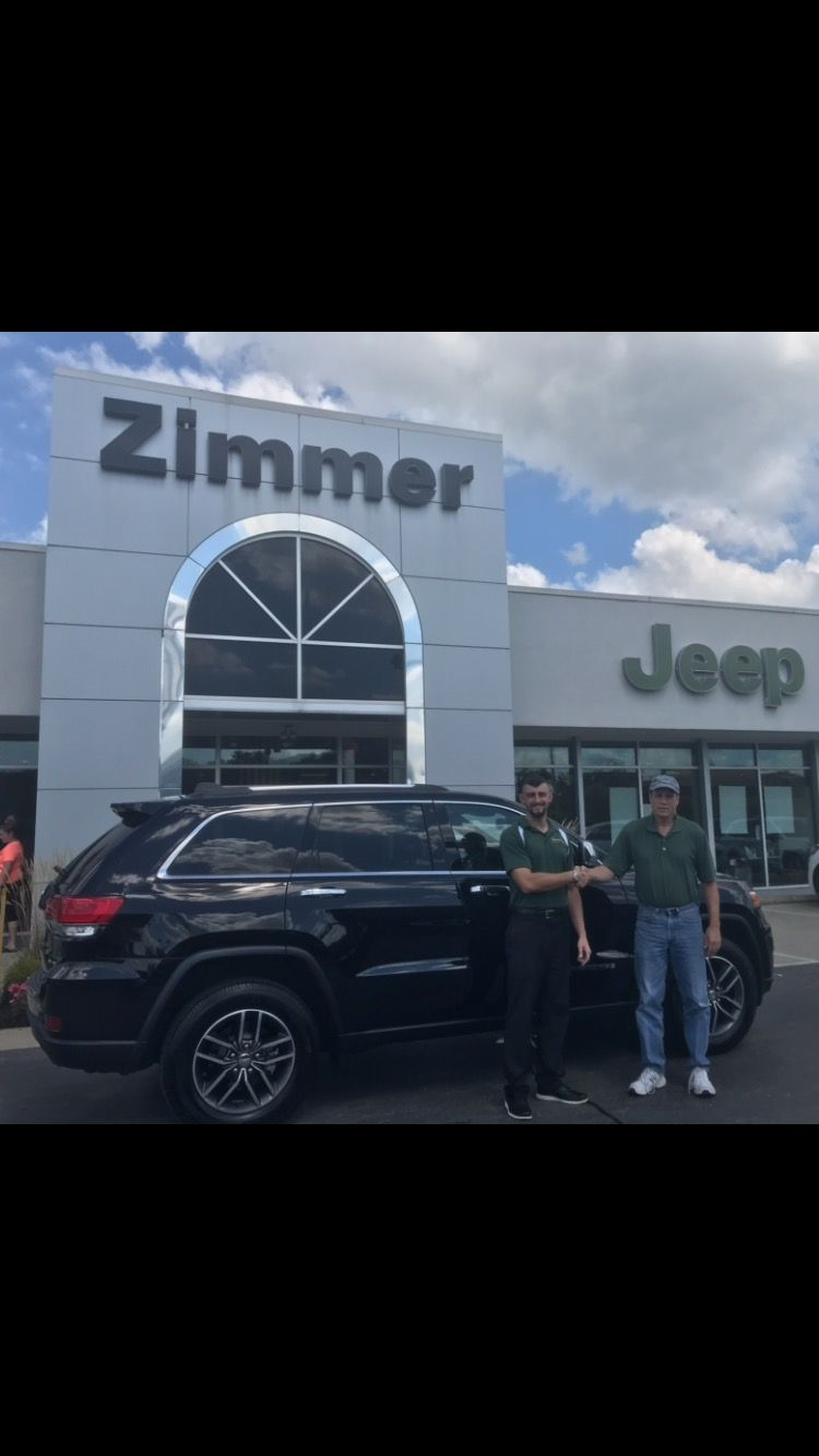 Congratulations Are In Order For Robert Federle He Came In Looking At Our New Suvs And Found This With Images Chrysler Dodge Jeep Jeep Grand Cherokee Limited Jeep Dealer