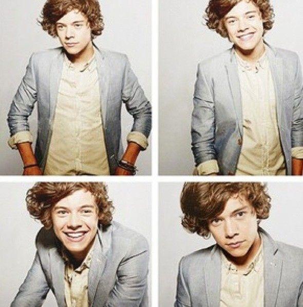 Harry is freaking adorkable!!