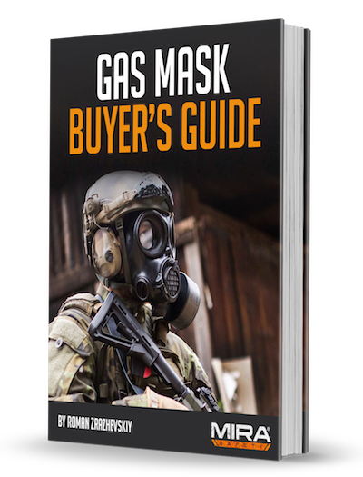 MIRA Safety CM7M Military Gas Mask CBRN Protection
