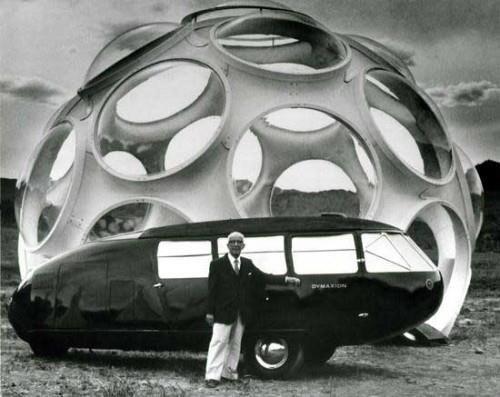Buckminster Fuller, Dymaxion car & structure