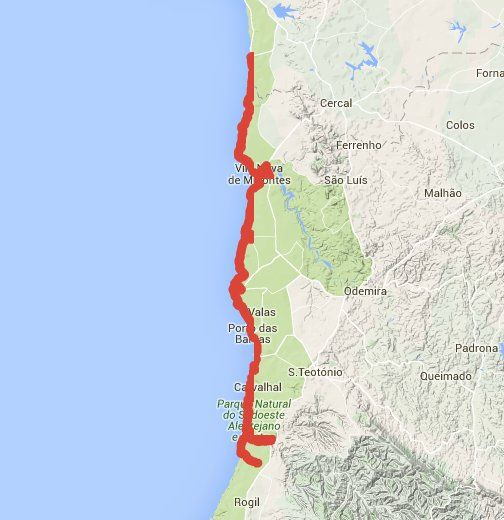 Fisherman S Trail Setubal To Faro Portugal I 2020