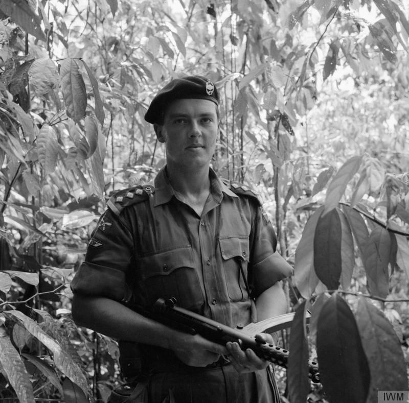A Soldier Of H Squadron, 5 Royal Tank Regiment, During