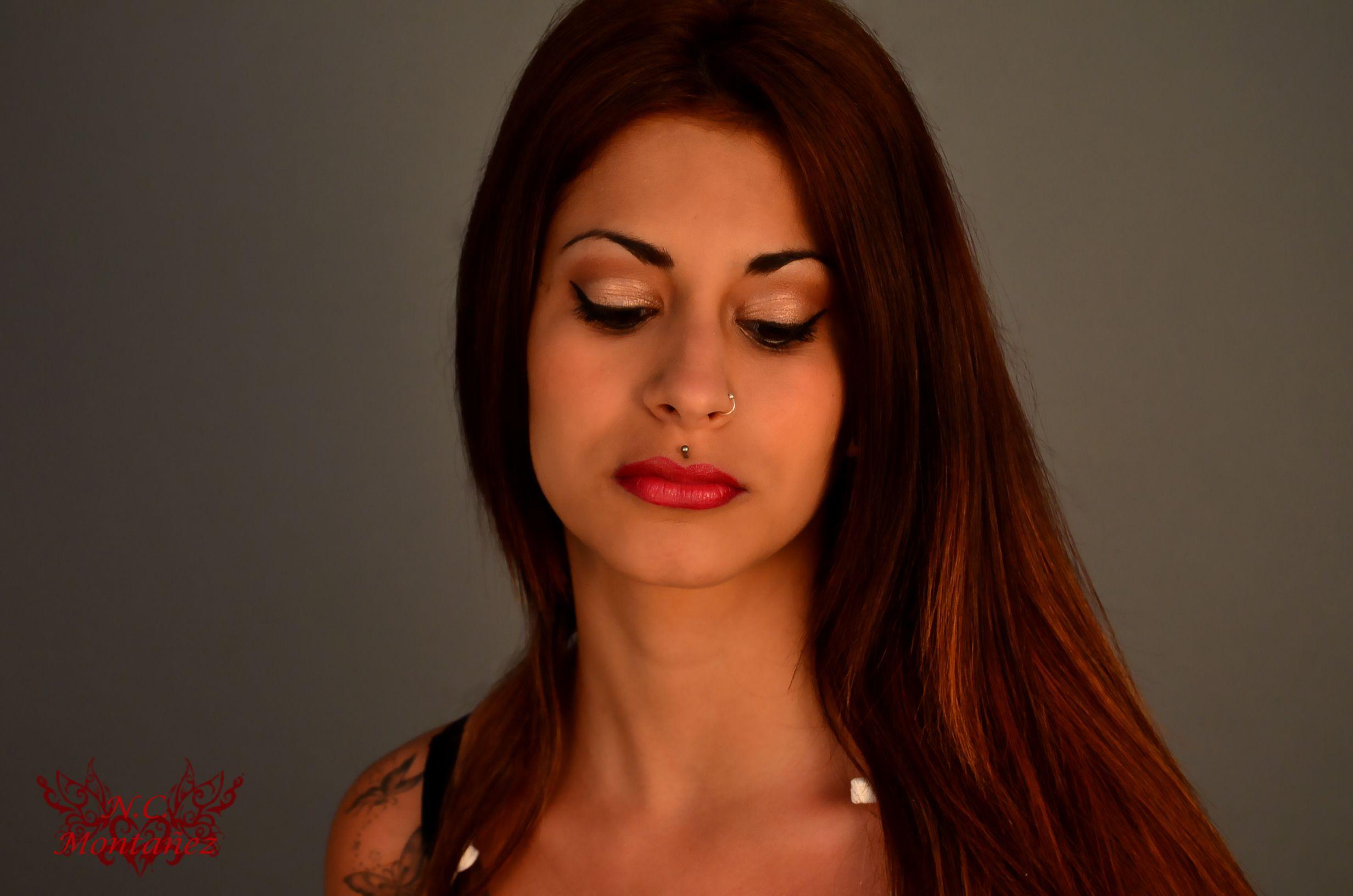 Modelo Ana Ariza Maquillaje, Modelos