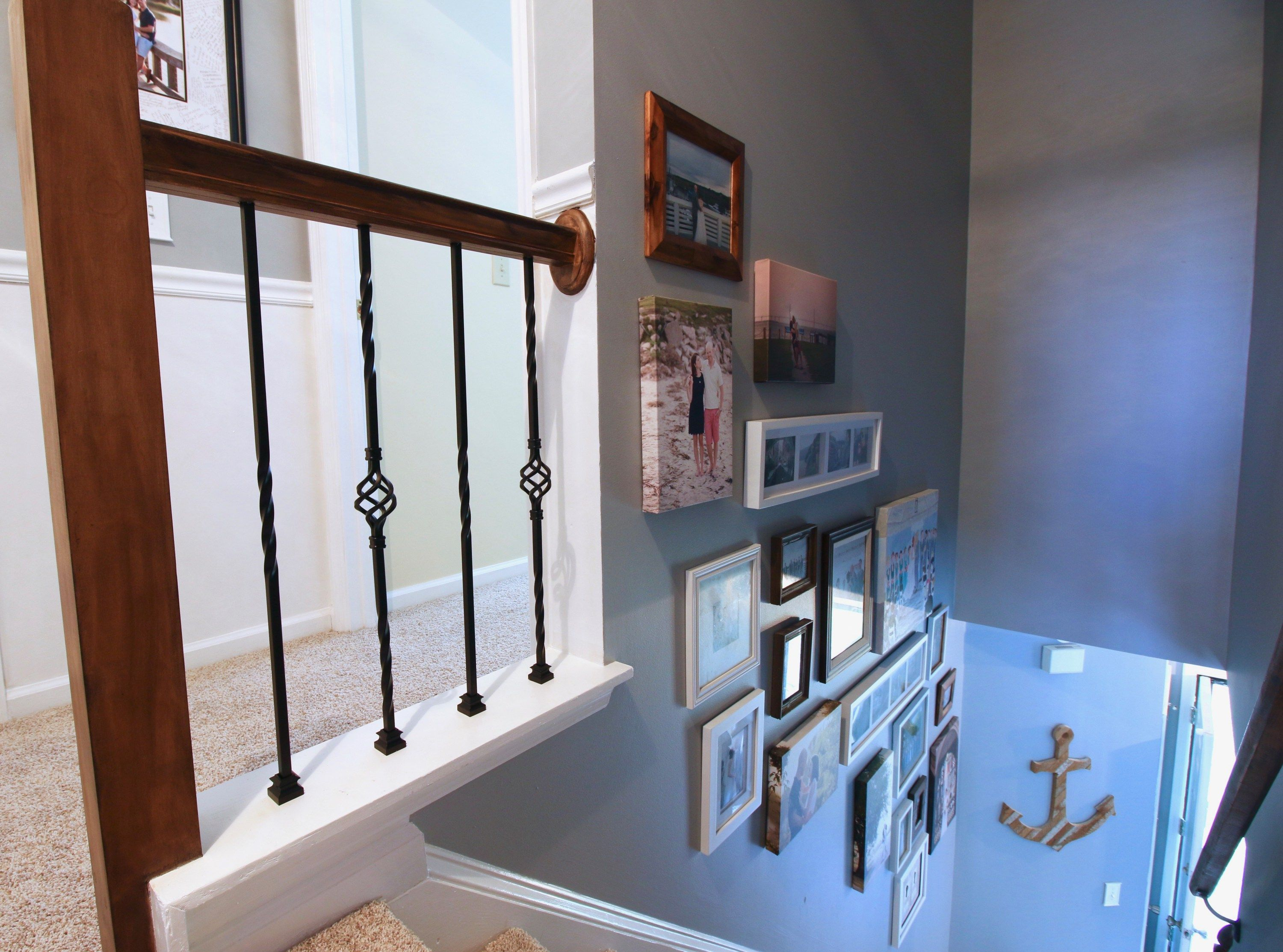 Best How To Replace Wooden Balusters With Iron The Easy And Cheap Way Home Upgrades Stair 640 x 480