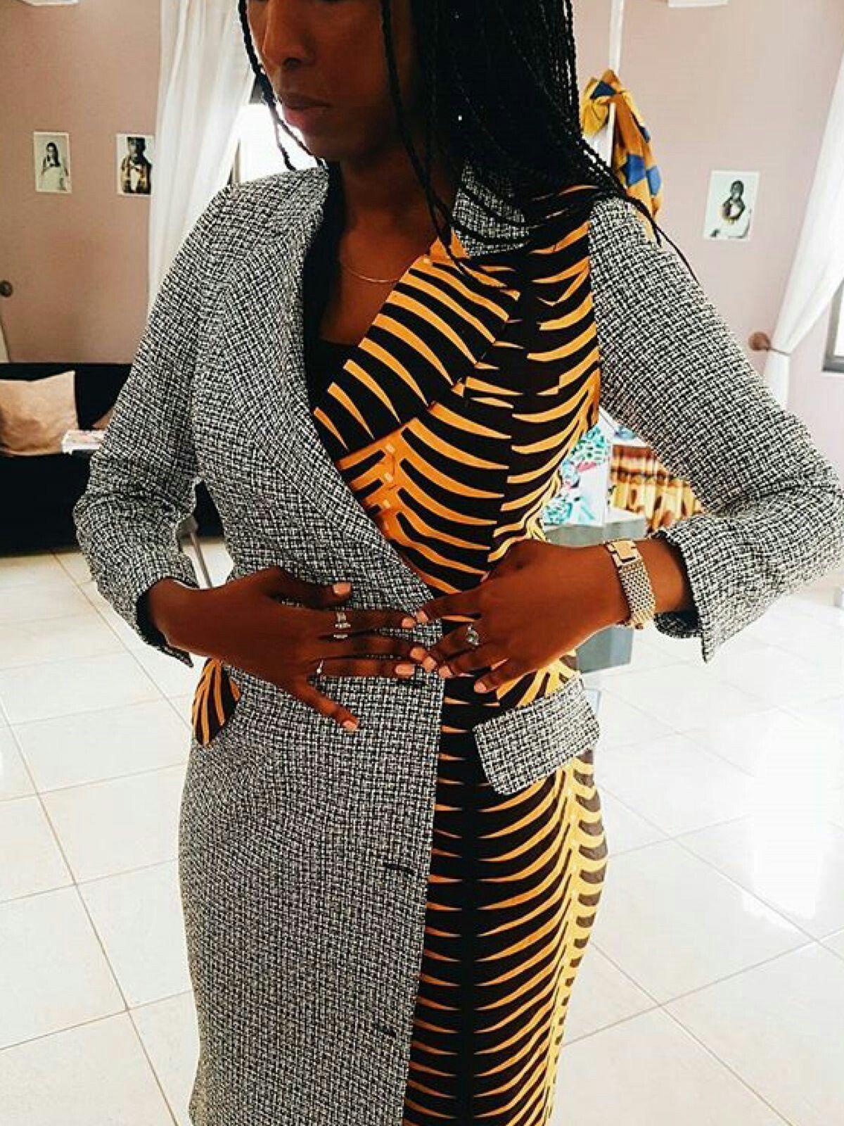20 jolies modèles de robes en pagne #afrikanischemode
