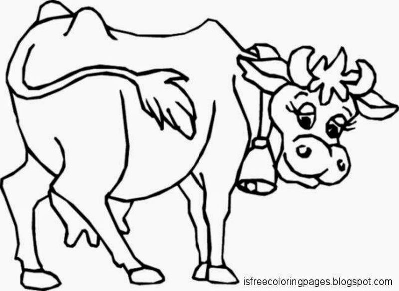 Cute Cow Coloring Pages Ideas Cow Coloring Pages Animal Coloring Pages Cow Pictures