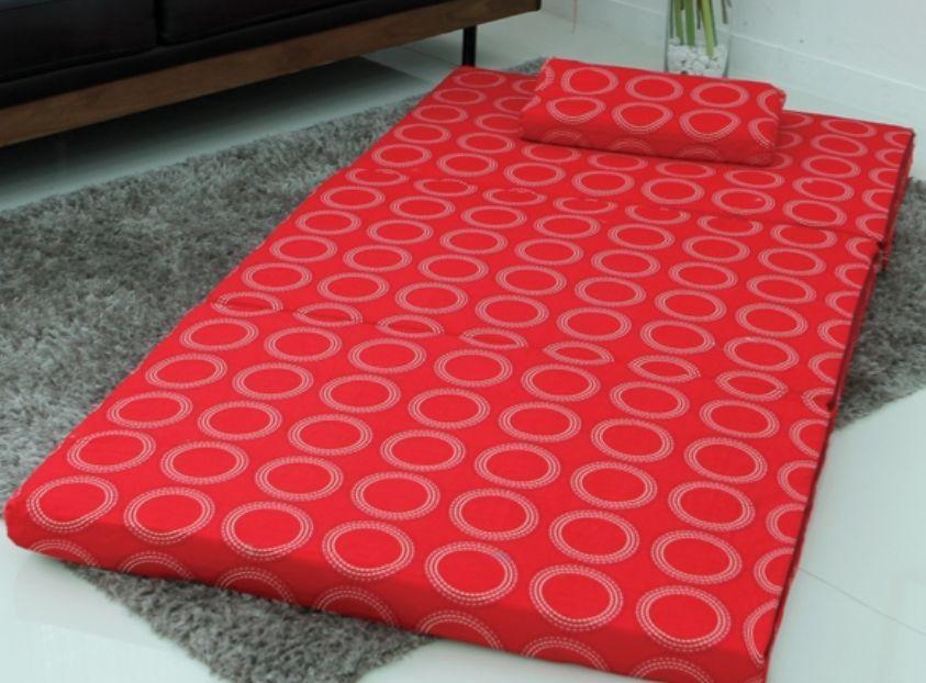 New Folding Floor Bed Sleeping Mattress Foldable Ergonomic Tatami Pillow Mattress, Pillows and ...