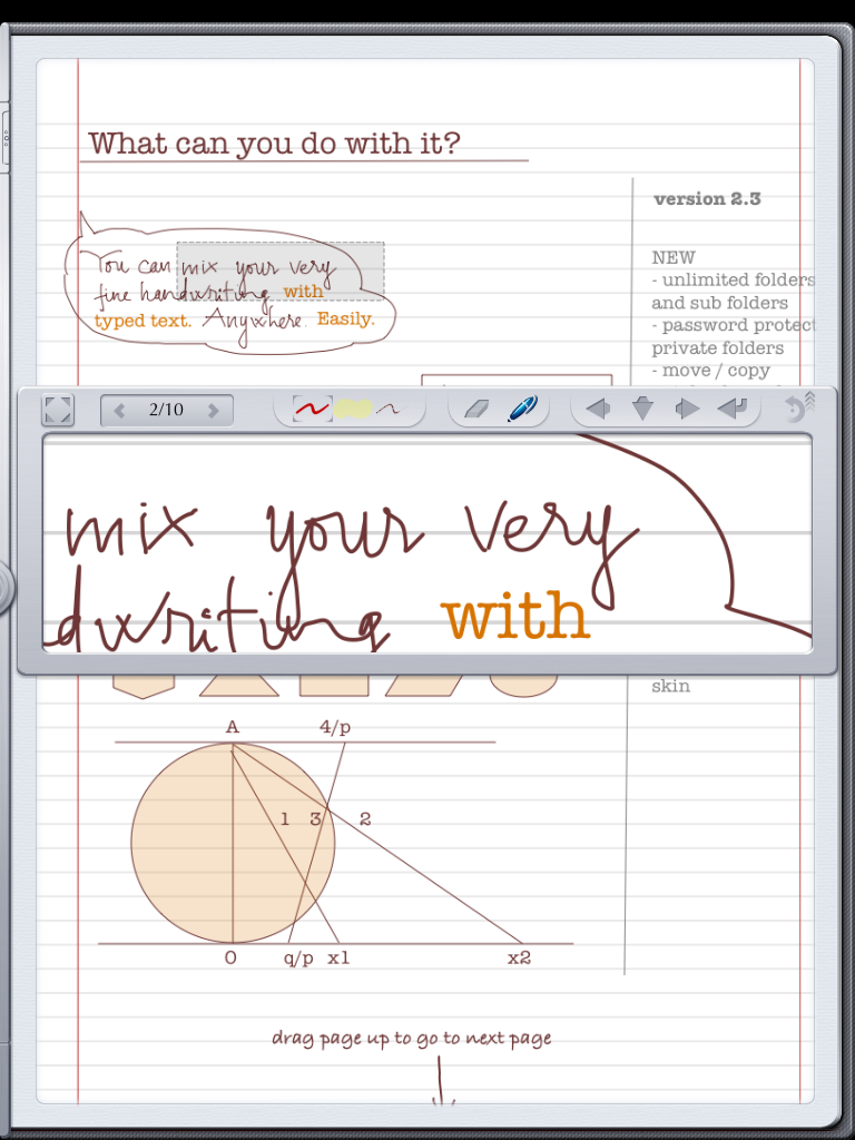 Notes Plus on my iPad.... helped me truly paperless