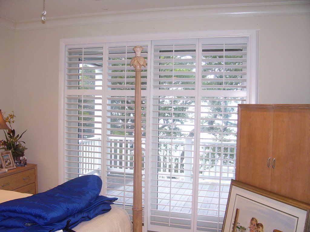 Shutters Faux White Bedroom Slider Master Bedroom Window