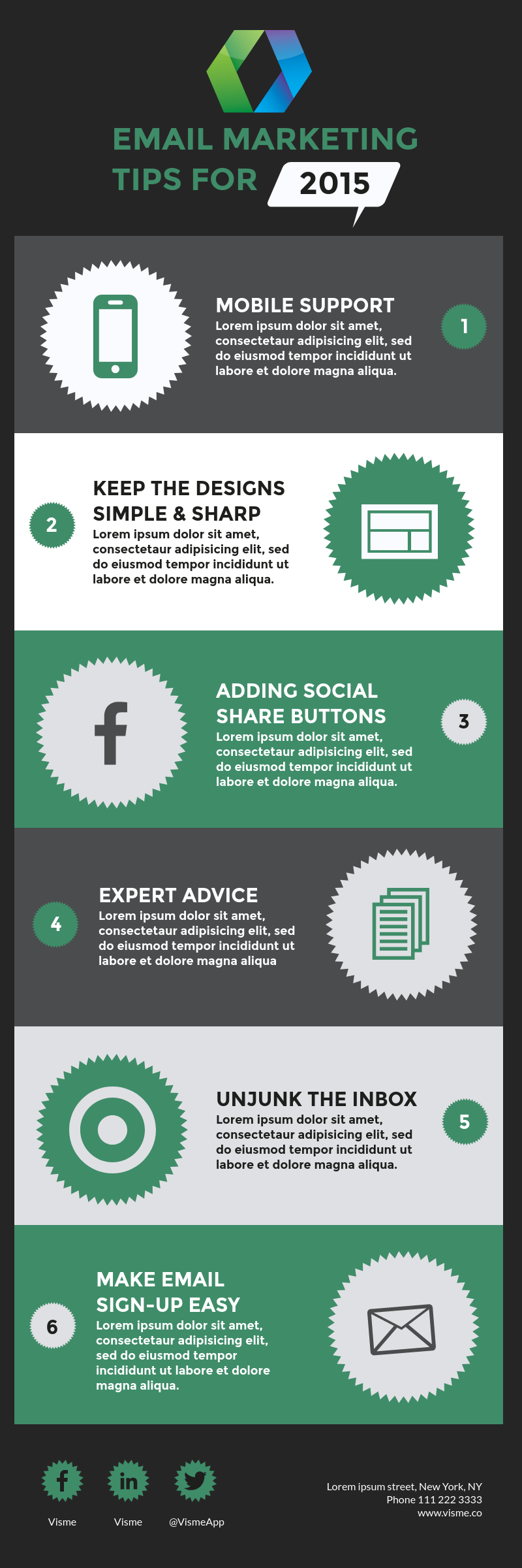 Make Free Infographics, Reports & Charts Online