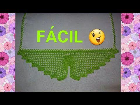 Barrado Facil Borboleta Croche Youtube Borboletas De Croche