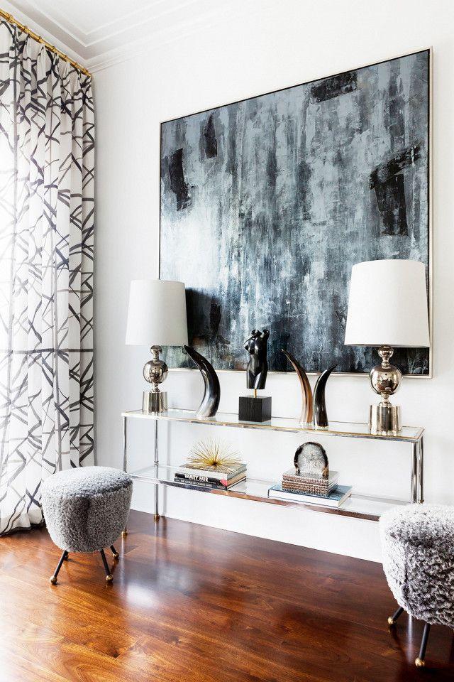 Decor Trends Home Decor Decor Contemporary Home Decor #silver #living #room #lamps