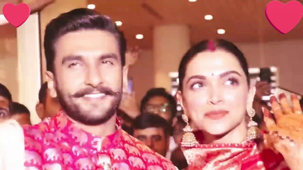 Deepika Padukone And Ranveer Singh Wedding Video After And Before Marri Ranveer Singh Wedding Video Deepika Padukone