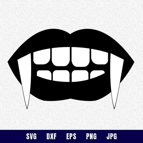 Halloween Vampire Lips Svg Halloween Svg Fall Svg Vampire Teeth Svg Kiss Lips Svg Cricut Files Vampire Lips Halloween Vampire Mandala Design Art