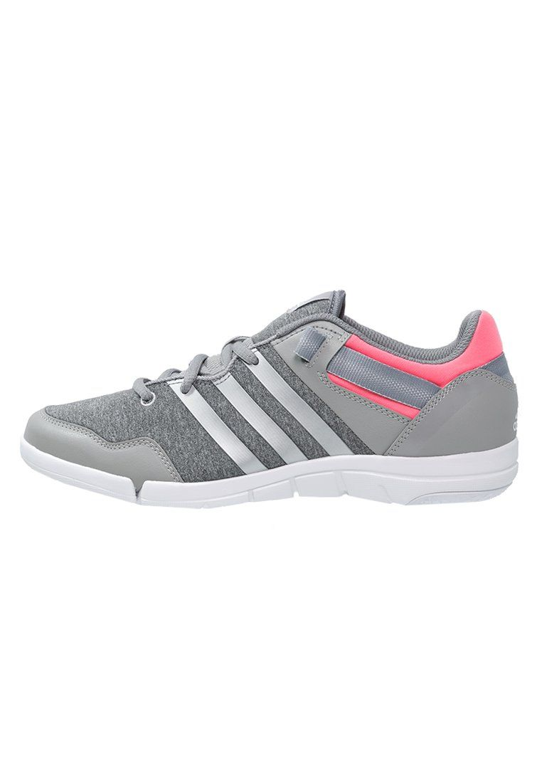 cheap for discount 6c382 e166b ¡Cómpralo ya!. adidas Performance ILAE Zapatos de baile medium grey heather  chalk white flash red. adidas Performance ILAE Zapatos de baile medium grey  ...
