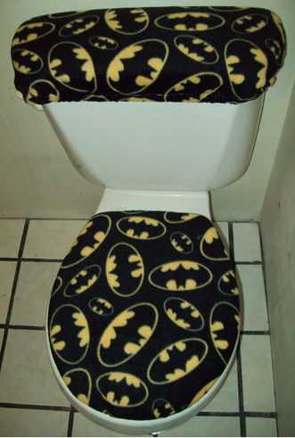 11 Nerdy Toilet Seats  Superhero BathroomBatman. 11 Nerdy Toilet Seats   Batman  Toilet and Decking