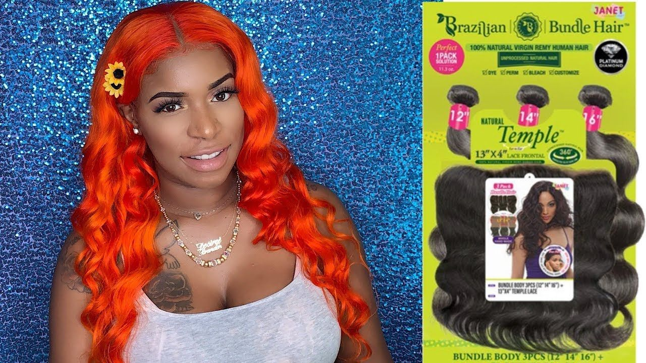 Janet Collection Brazilian Bundle Hair The Best Beauty Supply Store Hair How To Make A Wig Youtube Wig Making Beauty Supply Store Beauty Supply