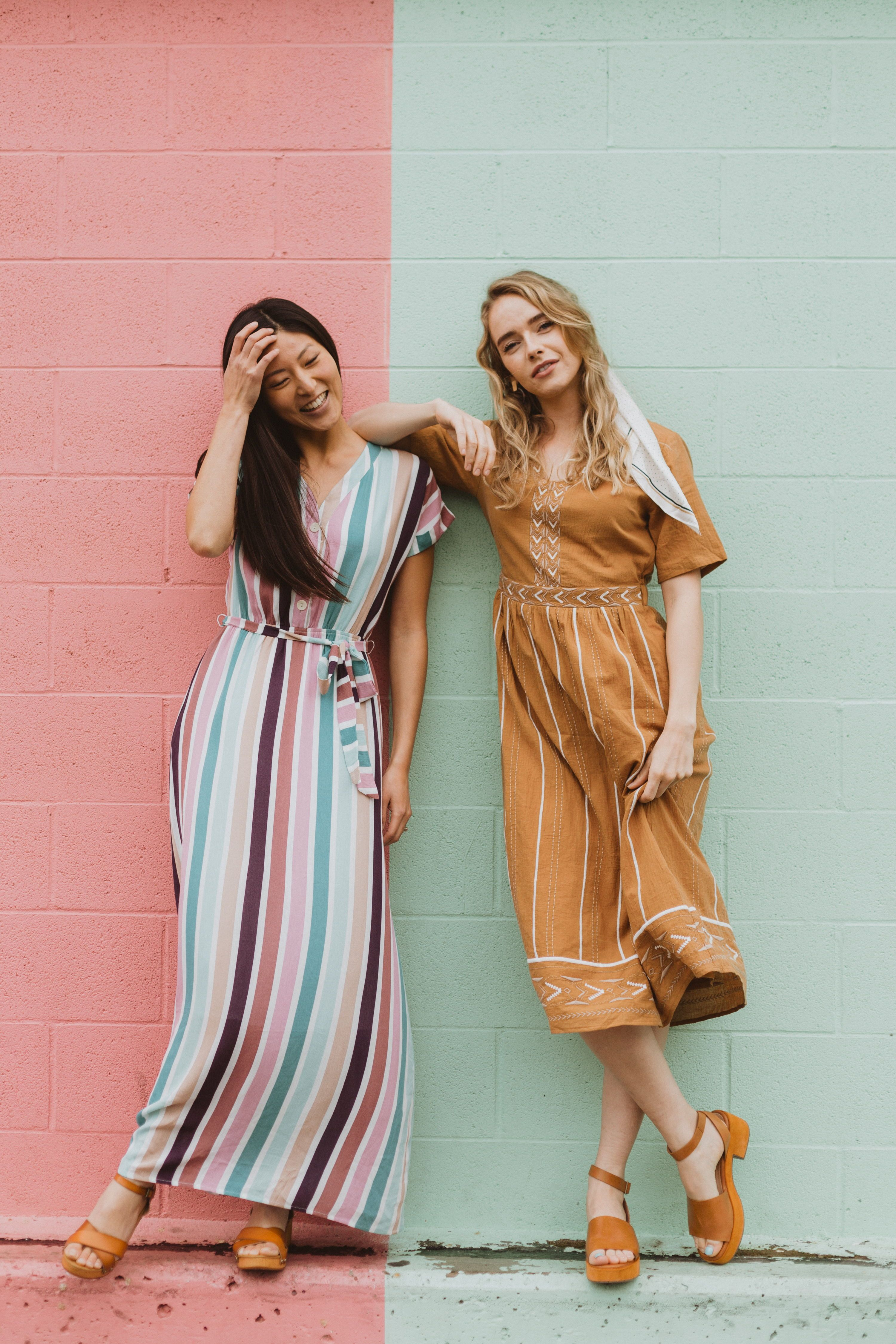 The Cha Cha Striped Maxi Dress Is As If All Your Favorite Things Came Together As A Dress It Is Nursing Friendly With Fashion Striped Maxi Dresses Dress Me Up [ 4500 x 3000 Pixel ]