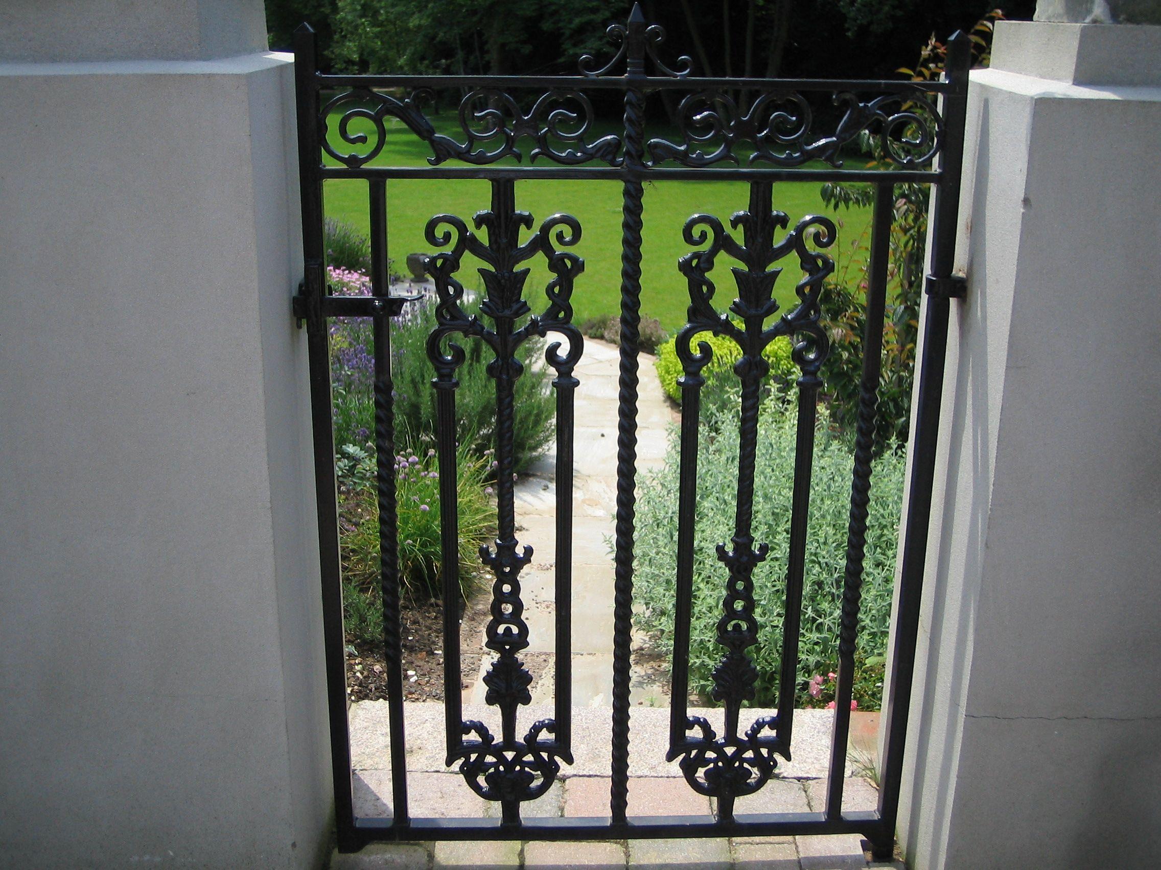 Mild Steel Gate, Bespoke Decorative Design #Gates#metalwork ...
