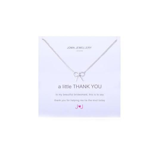 Joma Jewellery - A Little Thank You Bridesmaid - Necklace