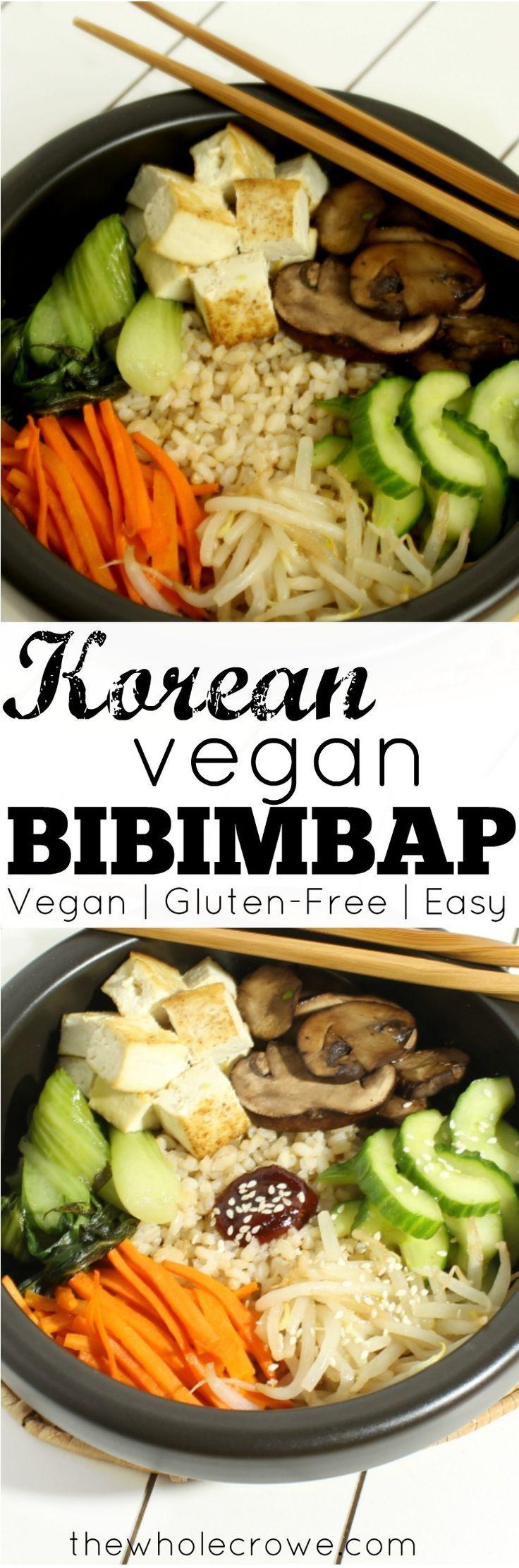 Korean Vegan Bibimbap
