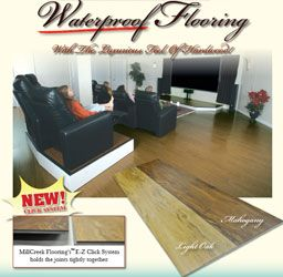 Millcreek Flooring Provides The Beauty Of A Finished Wood Floor Without Any  Warping, Cracking, Twisting, Mold, Rot Or Need For A Subfloor.