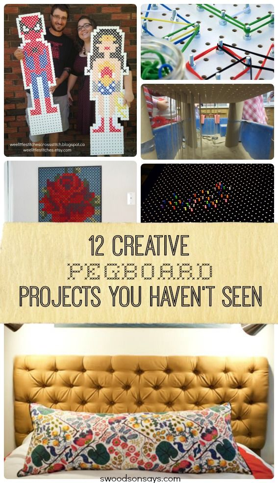 12 Creative Ways to Use Pegboard | Share Your Craft | Arts ...