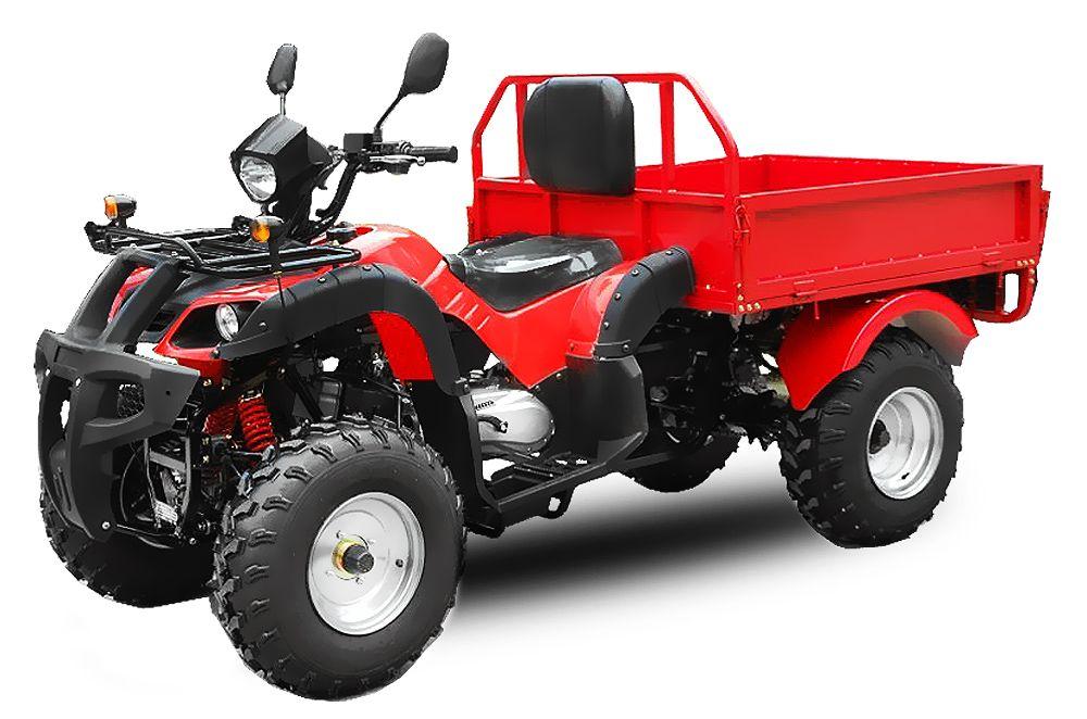 ATV 150cc DUMPER Automatik + RG | CVT Getriebe | Ladefläche | EEC |