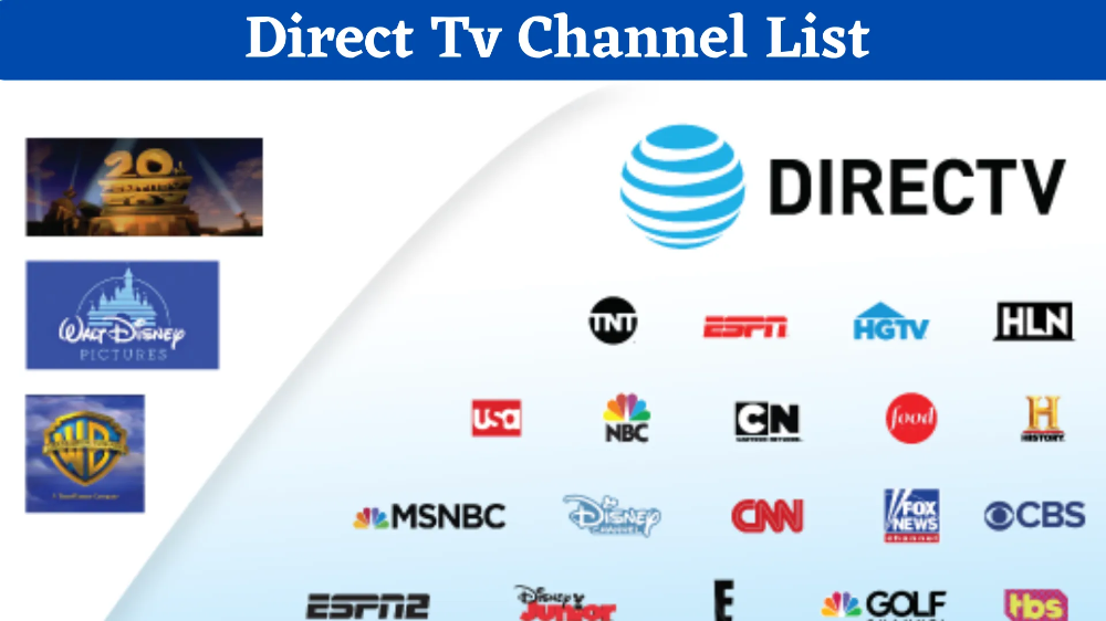 Direct Tv Channels List Directv Is An American Direct Broadcast Satellite Service Provider Based In In 2020 Tv Channel List Direct Tv Channels Direct Tv Channel List