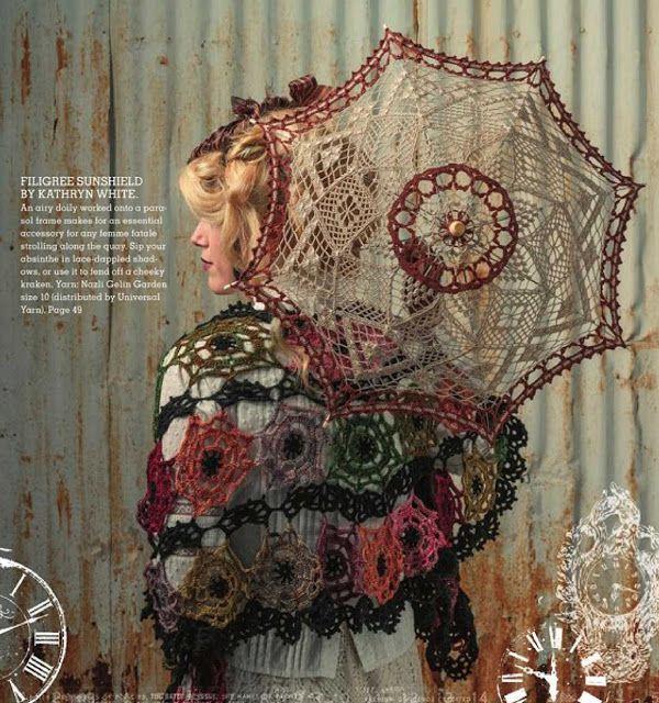 Patrón #1222: Filigree Sunshield a Crochet http://blgs.co/8HtoOJ ...