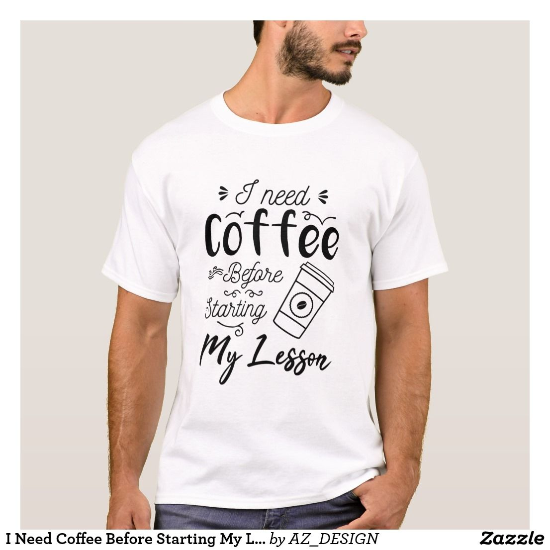 Need Coffee Right Meow! Cat Pun Funny TShirt